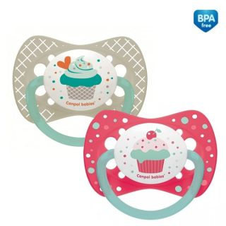 Симетрична залъгалка Cupcake - CANPOL