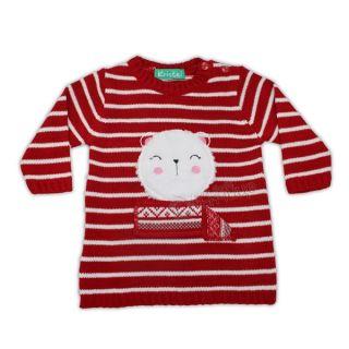 Коледен пуловер - Red Cat