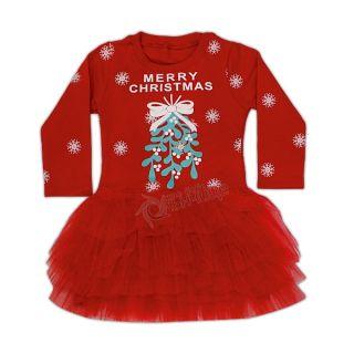 Коледна рокля пачка