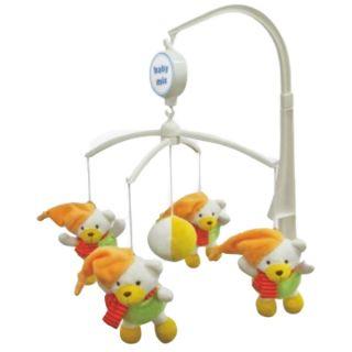 Музикална играчка за легло Зимни мечета - BABY MIX