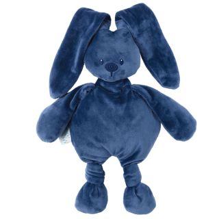 Мека играчка Cuddly Lapidou Navy Blue - Nattou