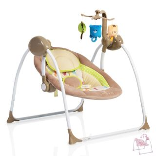 Електрическа бебешка люлка Baby Swing+