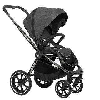 Бебешка количка QUICK 2.0 Black Chrome - MUUVO
