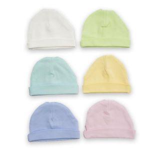 Памучна бебешка шапка