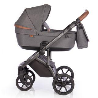 Бебешка количка 2в1 BLOOM BLACK DOTS - ROAN 2020