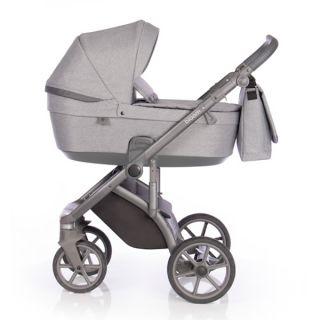 Бебешка количка 2в1 BLOOM GREY DOTS - ROAN 2020