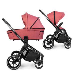 Бебешка количка 2в1 Quick 3.0 Black Chrome - MUUVO
