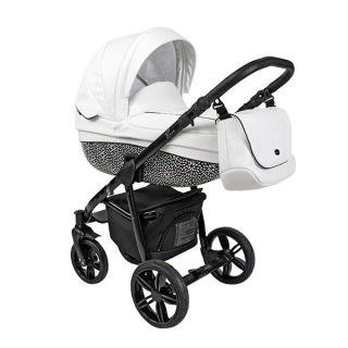 Бебешка количка 2в1 BASS COCONUT ECO/BLACK - ROAN