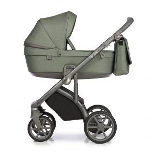 Бебешка количка 2в1 BLOOM GREEN DOTS - ROAN
