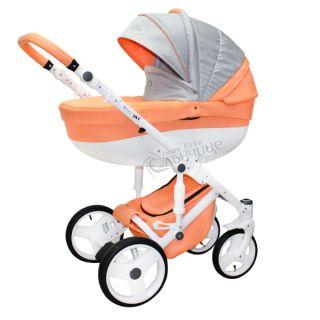 Бебешка количка SKY ORANGE LOVE - NIO