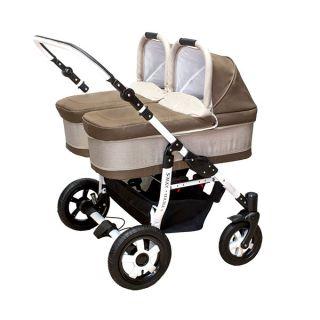Комбинирана количка за близнаци S-MAX DOUBLE CAPPUCCINO