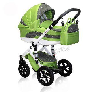 Бебешка количка VOGUE GREEN AMBER - NIO