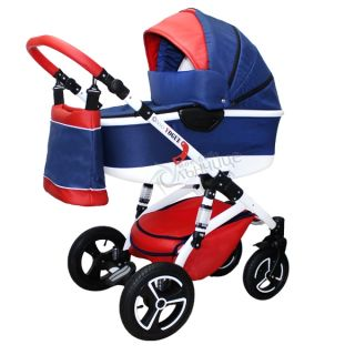 Бебешка количка VOGUE LUX BLUE ENERGY - NIO 2018