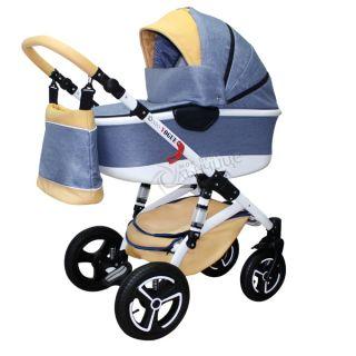 Бебешка количка VOGUE LUX SOFT DENIM - NIO 2018