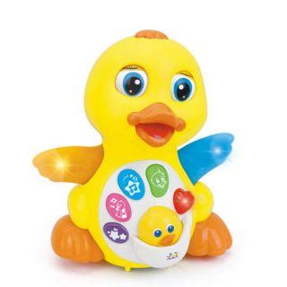 Бебешка музикална играчка - Жълтото пате