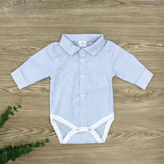 Бебешко боди-риза с дълъг ръкав
