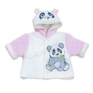 Бебешко яке Pandoo - Розов
