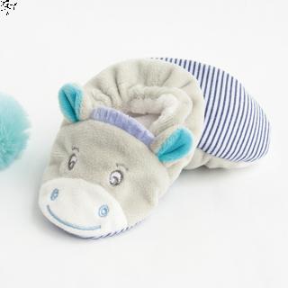 Плюшени пантофки - Blue Cow - BabyNat