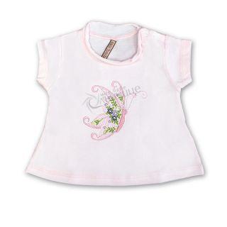 Блуза къс ръкав - Пеперуда