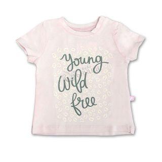 Блуза къс ръкав - Young Розов