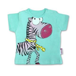 Блуза къс ръкав - Zebra