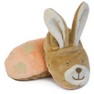 Плюшени пантофки - Brown Bunny - BabyNat