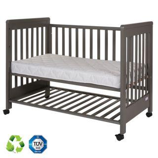 Дървено легло Dreamy Plus 2 Gray 60/120см - Treppy