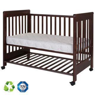 Дървено легло Dreamy Plus 2 Walnut 60/120см - Treppy