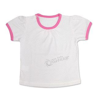 Блуза с къс ръкав - Точици