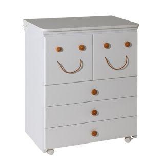 Дървен шкаф с вана и повивалник - Smile