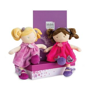 Плюшена играчка Pretty Rose - Doudou et Compagnie
