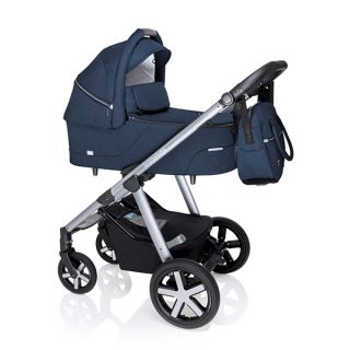 Бебешка количка 2в1 HUSKY - BABY DESIGN 2020