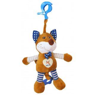 Плюшена музикална играчка Mr. Foxy - BABY MIX