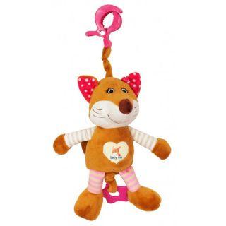 Плюшена музикална играчка Mrs. Foxy - BABY MIX