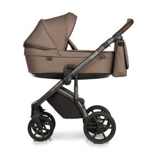 Бебешка количка 2в1 BLOOM BROWN DOTS - ROAN 2020