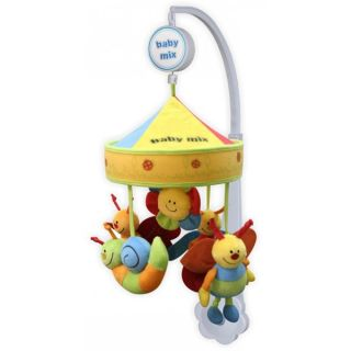 Музикална играчка за легло Поляна - BABY MIX