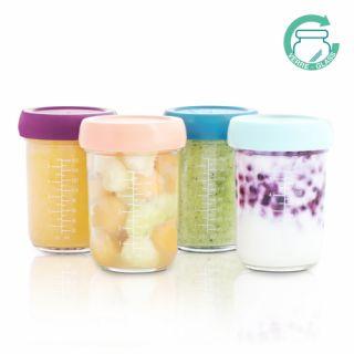 Комплект стъклени купички за храна - Babymoov