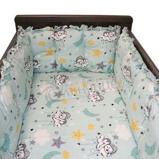 Комплект обиколници за креватче - Sleepy Bear