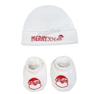 Коледни буйки и шапка - Merry Christmas