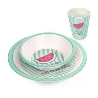 Комплект за  хранене - Watermelon - бамбук - Canpol