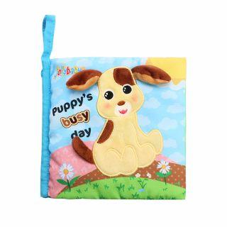 Мека книжка-дневник кученце Bubby -  Jollybaby