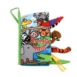 Мека книжка с опашки Джунгла -  Jollybaby