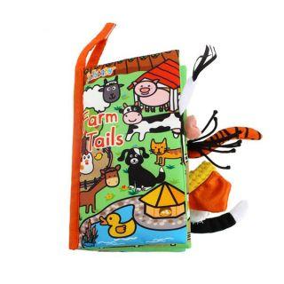 Мека книжка с опашки Ферма -  Jollybaby