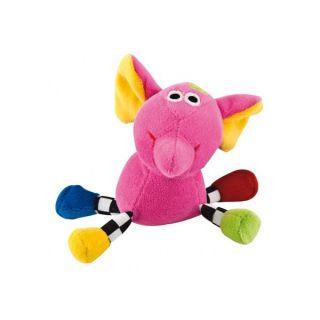 Мека плюшена дрънкалка Crazy animals - CANPOL