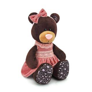 Плюшена играчка Милки с кадифена рокля - Orange Toys