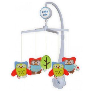 Музикална играчка за легло Owls - BABY MIX