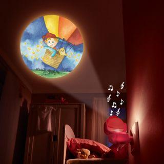 Нощна музикална лампа - HABA