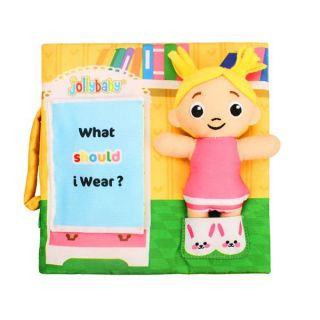 Образователна мека книжка Какво да облека? - Jollybaby