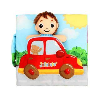 Образователна мека книжка Малък шофьор - Jollybaby