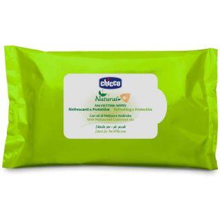 Освежаващи и защитаващи кърпички - Chicco